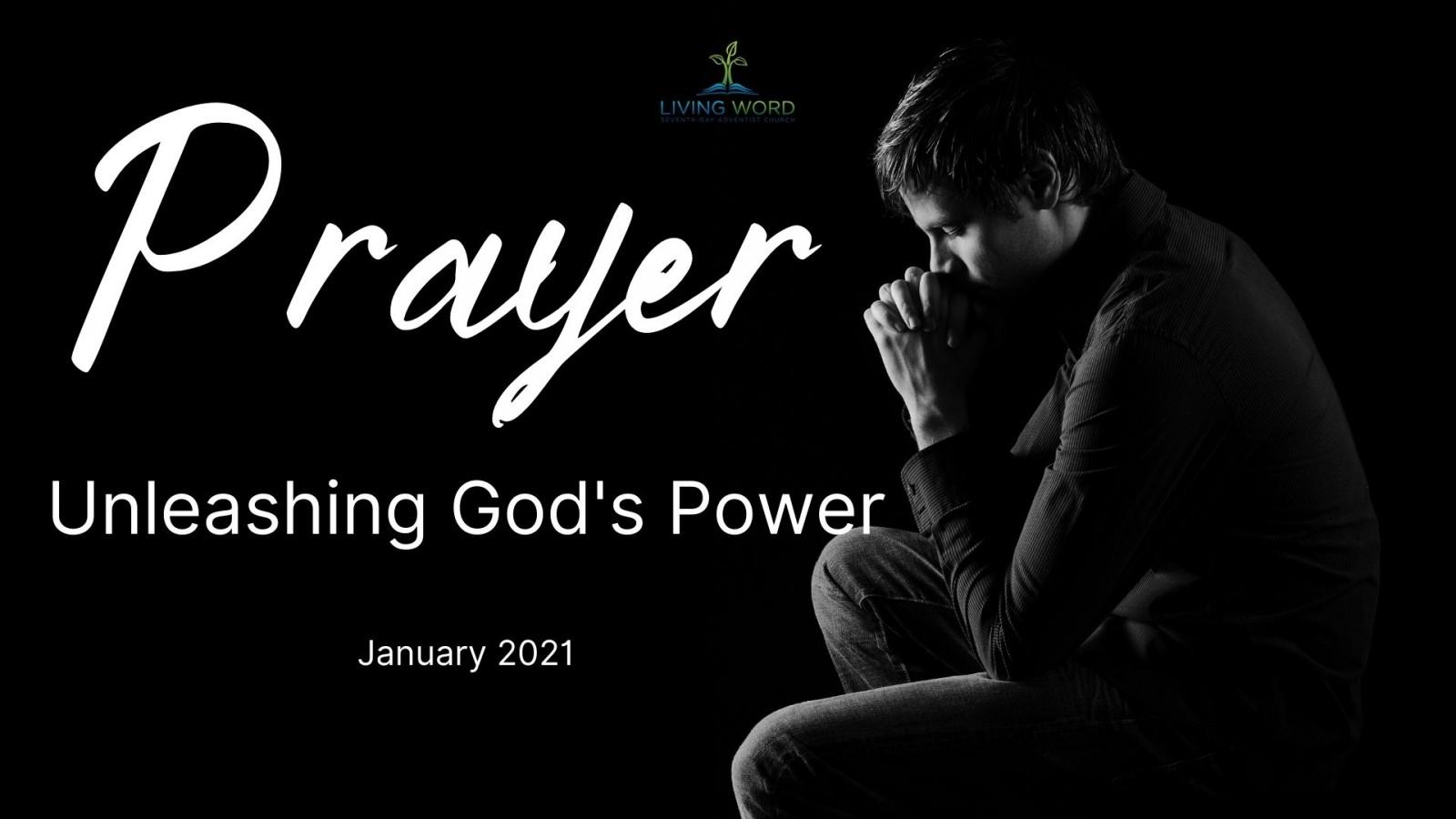 Prayer Unleashing God's Power